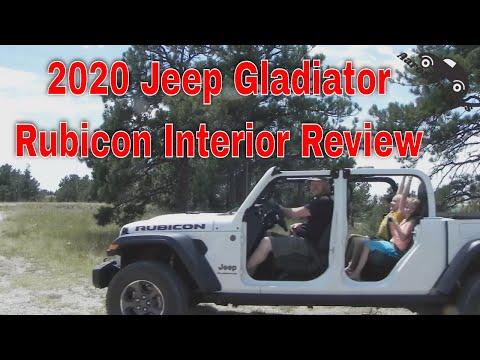 2020 Jeep Gladiator Rubicon interior review