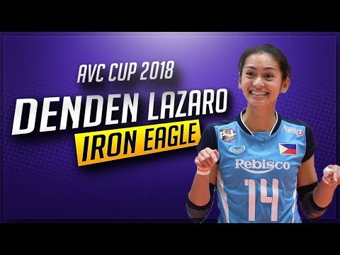 Denden Lazaro - Superb Digs, Receives And Saves (AVC Cup 2018 Highlights)