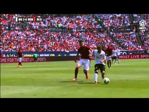 Juan Mata amazing goal Rooney assist   Man...