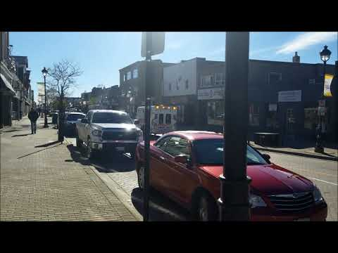 Lunch Walk Downtown - North Bay, Ontario - October 30 2018