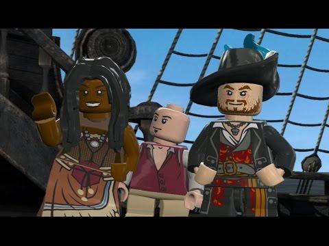 LEGO Pirates of the Caribbean Walkthrough Part 12 - Davy Jones' Locker (At World's End)