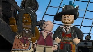 LEGO Pirates of the Caribbean Walkthrough Part 12 - Davy Jones