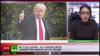 No collusion between Trump & Russia - US intel committee wraps up its probe