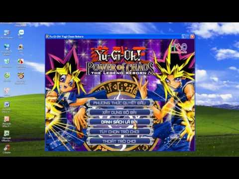 hack full card yugioh power of chaos yugi the destiny - Cách hack full bài và chuyển file xếp bài có sẵn trong Yu-Gi-Oh! Power Of Chaos