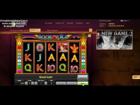 BOOK OF RA [TYLKO TUTAJ NOVOMATIC] 20 PLN FREE NA casino-atlanta.com