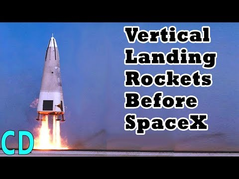 Vertical Landing Rockets Before SpaceX