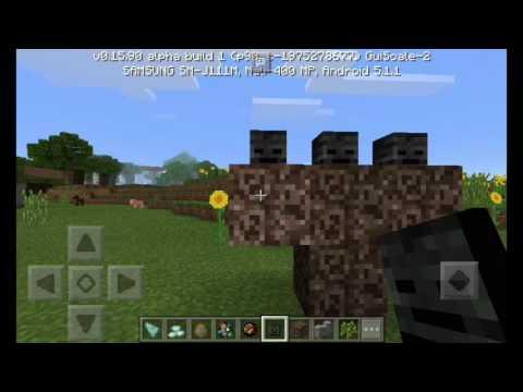 Wither!!!!Apk 15.90 Oficial|Minecraft PE|Descarga|Review|Cosas Nuevas Link En La Descripción.