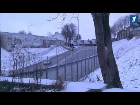 В праздники на эстоно-российской границе возникли огромные очереди