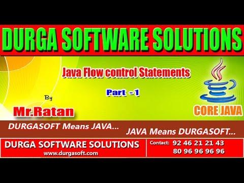 Core java ||  Java flow control statements part -1