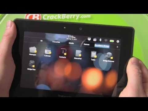 BlackBerry Bridge Walkthrough on the BlackBerry PlayBook
