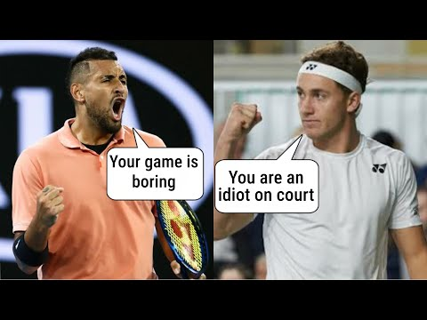 From criticizing each other on twitter to praising each other in press conferences, Kyrgios and Casper have come a long way. Watch this video to know more about the complicated relationship of Kyrgios and Ruud.