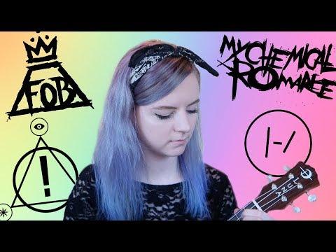 EMO songs on ukulele!