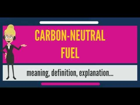 What is CARBON-NEUTRAL FUEL? What does CARBON-NEUTRAL FUEL mean? CARBON-NEUTRAL FUEL meaning