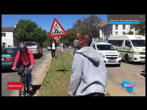 Rhodes SRC speaks on violent clashes with police