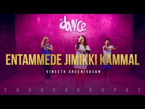 Vineeth Sreenivasan - Entammede Jimikki Kammal | FitDance Channel (Choreography) Dance Video