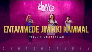 Vineeth Sreenivasan - Entammede Jimikki Kammal | FitDance Channel (Choreography) Dance Video