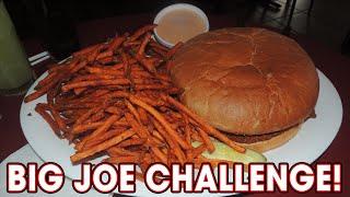 Giant Food Challenge - Huge Sloppy Joe W/ Sweet Potato Fries!