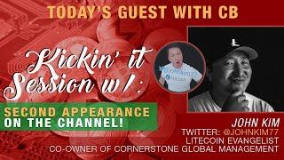 CB x John Kim Talk Having Positive Energy in Crypto His Relationship w/ Charlie Lee & More!