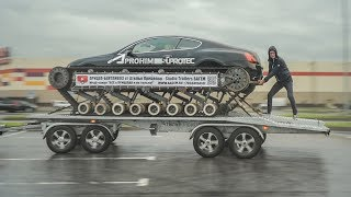 Прицеп танковоз для Bentley Ultratank