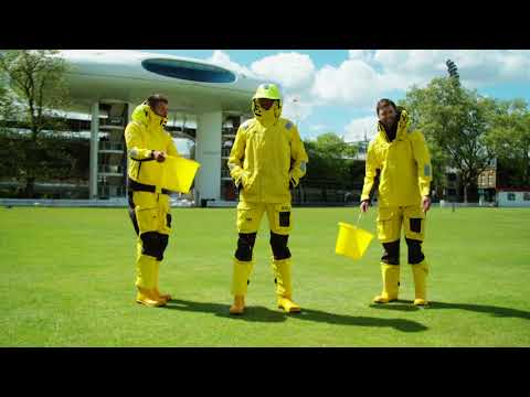 Middlesex County Cricket Club go yellow for RNLI's Mayday campaign