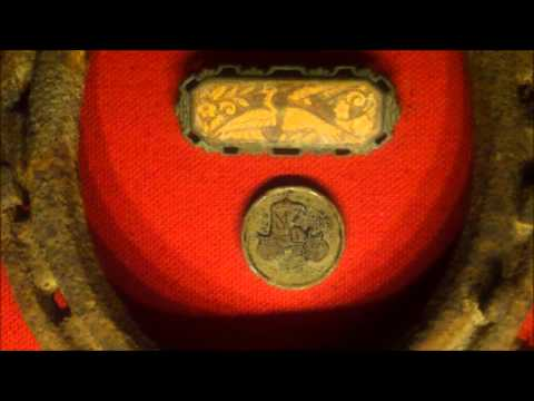 Finding a silver spoon and silver dime metal detecting #8