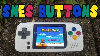 PocketGo EU SNES Buttons Mod!