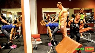 EPIC MOMENTS FROM BALLS PRANK IN THE GYM