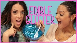 NikiAndGabiBeauty Edible Glitter?! | Niki and Gabi DIY or Di-Don