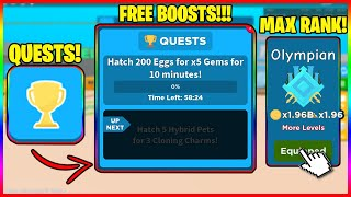 NEW SPEED CHAMPIONS UPDATE! QUESTS! GET FREE BOOSTS!!! FREE CHARMS!!! NEW RANKS! (MAXED ALL RANKS!)