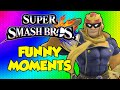 SHOW ME YOUR MOVES!!! ~ Smash 4 Funny Moments, Falcon Diddos