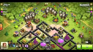 Clash of Clans | Awesome 820k Loot Baloonian Raids! |