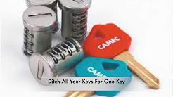 Camec One Key Fits All Barrel & Housing Locks