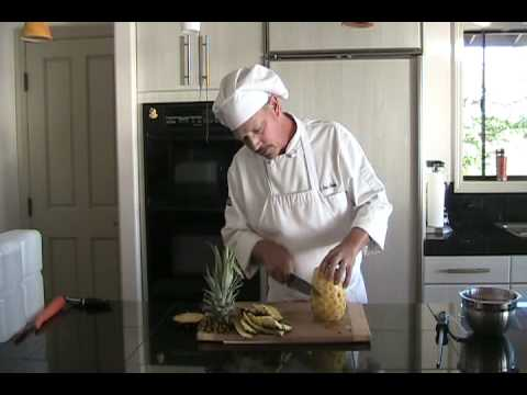 How To Cut A Pineapple, Personal Chef Tips, Island Thyme Gourmet, Hawaii Cooking Tips