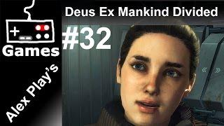 Прохождение игры Deus Ex Mankind Divided на русском языке в Full HD Находим ангар в магазине игрушек летим в голем общае
