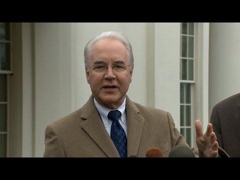 Tom Price resigns as President Donald Trump's HHS Secretary