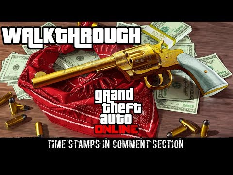GTA 5 Online | Hunting Red Dead Redemption 2 Treasure | 50 HeadShot Challenge Completed