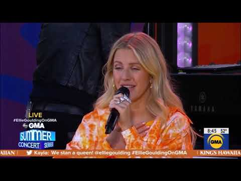 "Elle Goulding sings ""Love Me Like You Do"" Live June 14, 2019 HD 1080p"