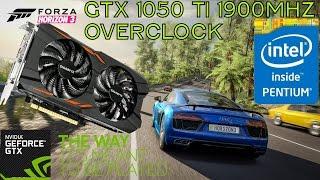 Intel G4560 + GTX 1050 Ti Gaming - Forza Horizon 3 Ultra 1080p