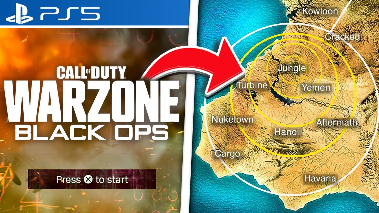 Black Ops 5 Coming To Warzone New Map Secrets Season 4 Leaks