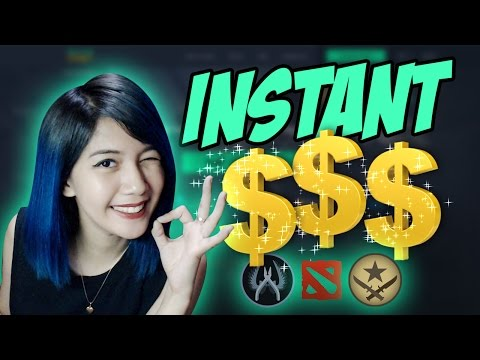 INSTANT & EZ CASH!!! Steam Item Selling Guide - (You Need To Watch This)