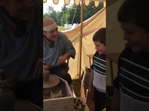 Master designer of pottery Mason