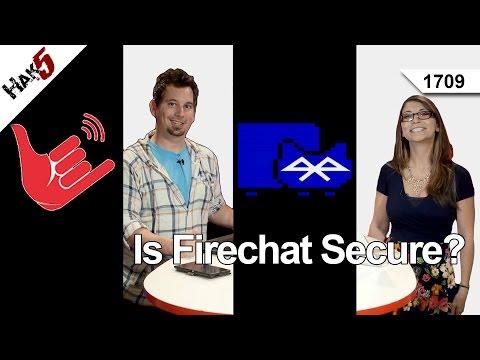 Is Firechat Secure? Hak5 1709