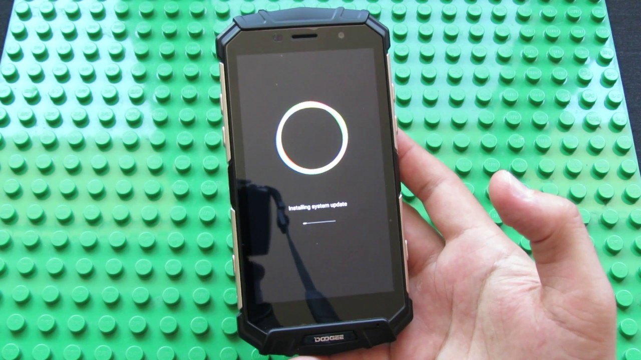 How to easily update firmware via OTA on DOOGEE S60 Lite Rugged Smartphone