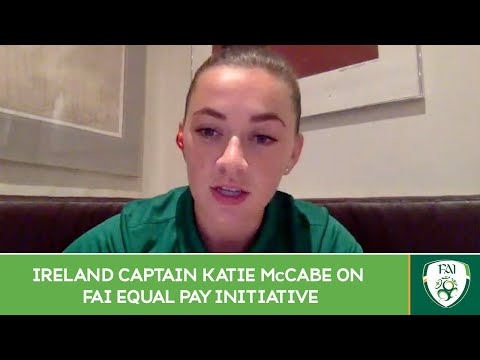 INTERVIEW | Ireland Captain Katie McCabe on FAI equal pay initiative