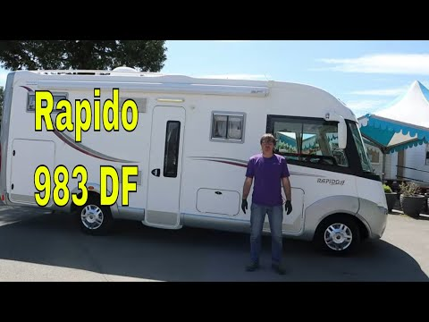 Rapido Motorhome - Rapido 983 DF Motorhome For Sale UK