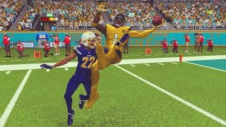 madden 17 career mode wr s2 ep 29 best one hand catch in nfl history