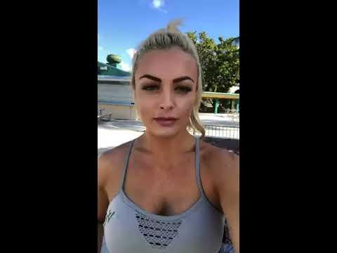 Sexy Mandy Rose Instagram Live
