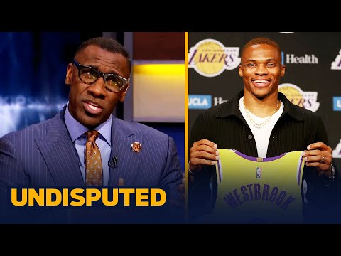 Westbrook shows new jumpshot & technique ahead of Lakers debut — Skip & Shannon | NBA | UNDISPUTED