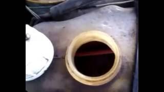 Струйка в бачке с помпой (высокая крыльчатка).