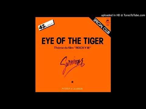 Survivor - Eye Of The Tiger ''Maxi 45T'' (1982)